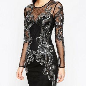 NWOT ASOS embellished mini dress